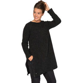 Varg W's Fårö Long Wool Dress Dark Anthracite